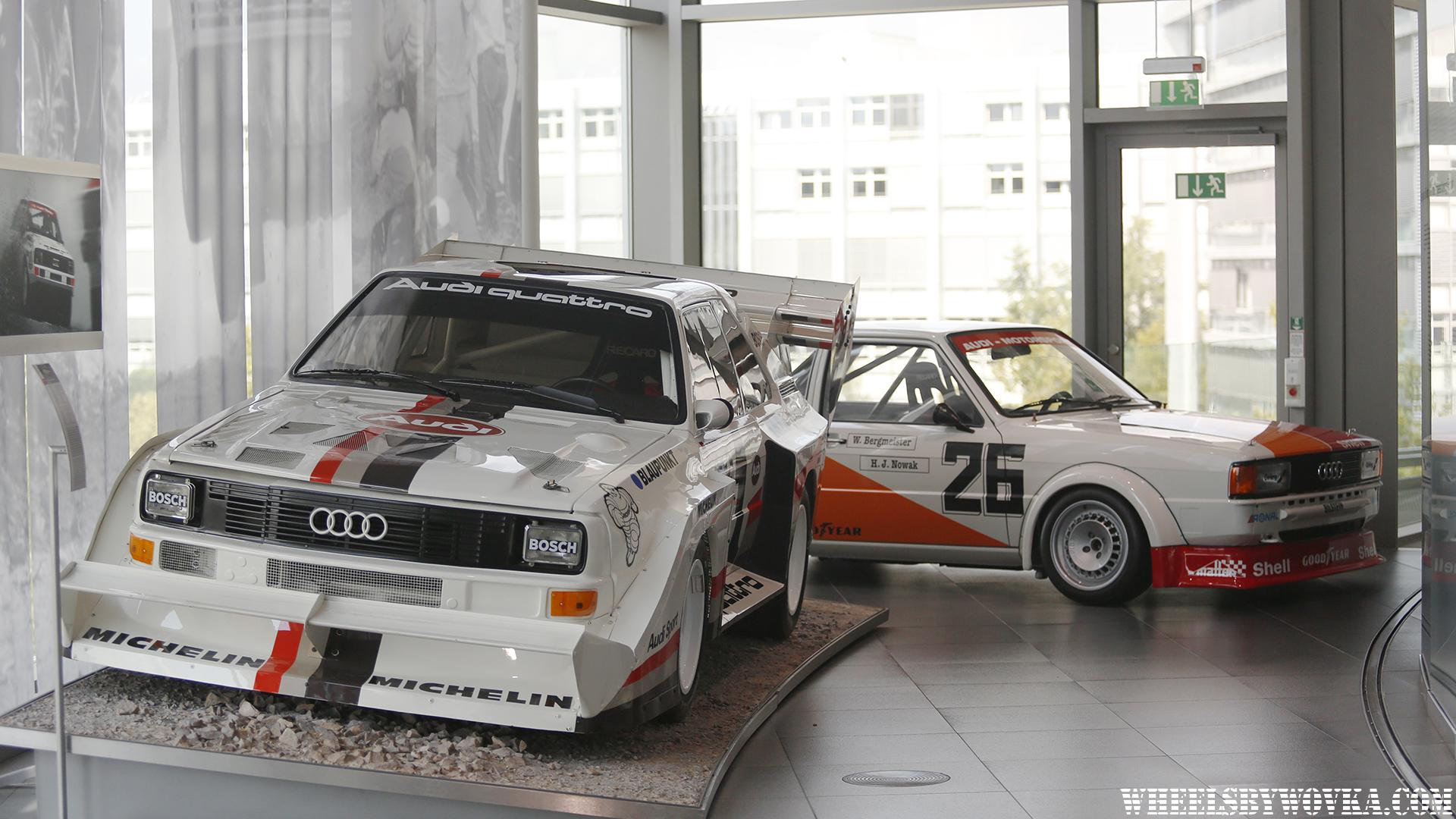 Audi Museum Ingolstadt Wheelsbywovka