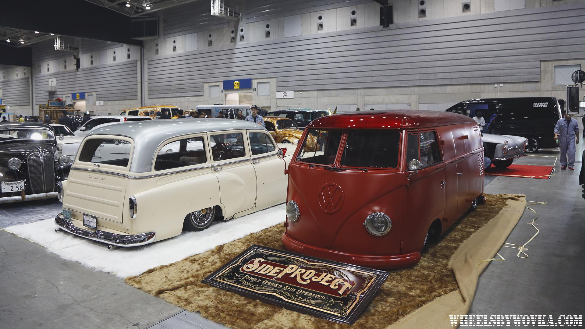 Mooneyes Yokohama Hot Rod Custom Show Cars 2017