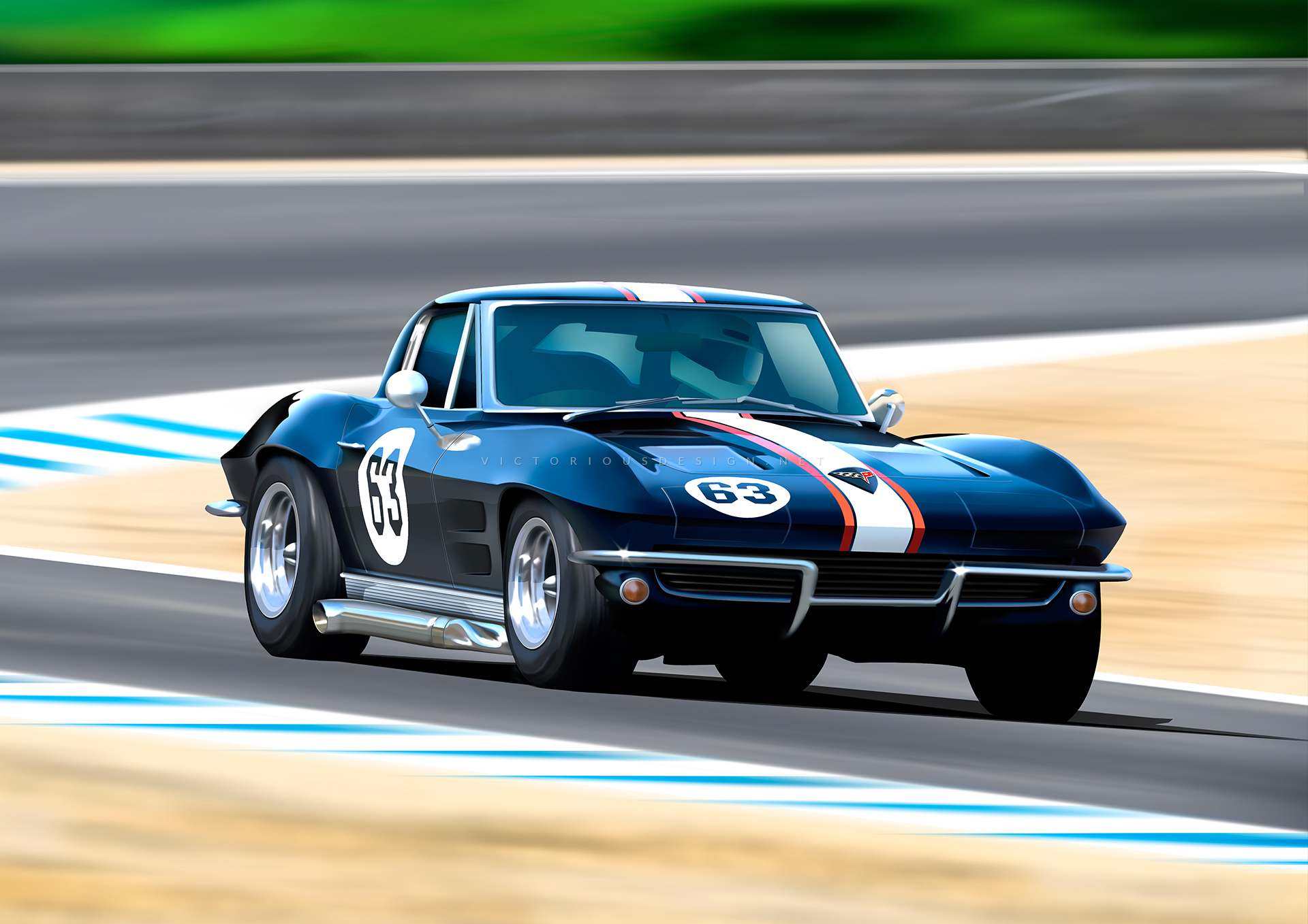 1963-corvette